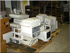 Image of old computers