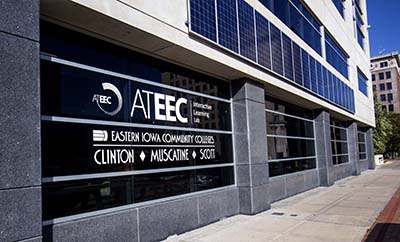 Outside shot of the ATEEC building