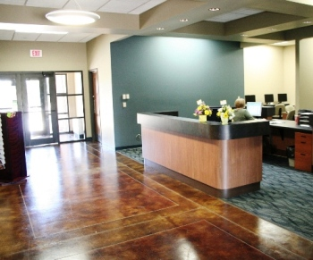 Clinton Community College Maquoketa Center lobby