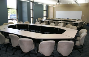 Clinton Community College Maquoketa Center classroom