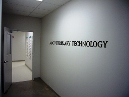 MCC Veterinary Technician lab entrance