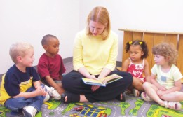 Photo of students at Learning Tree Preschool
