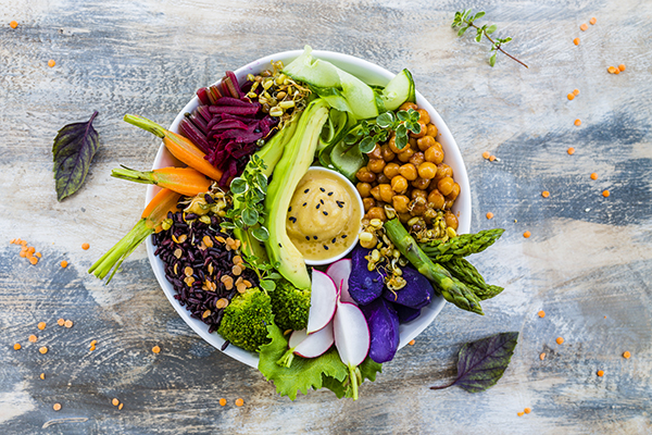 Plant-Based Buddha Bowl