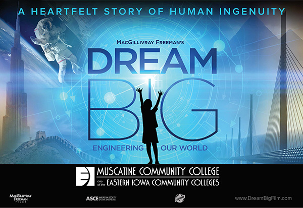 Flyer for Dream Big, all info available in text